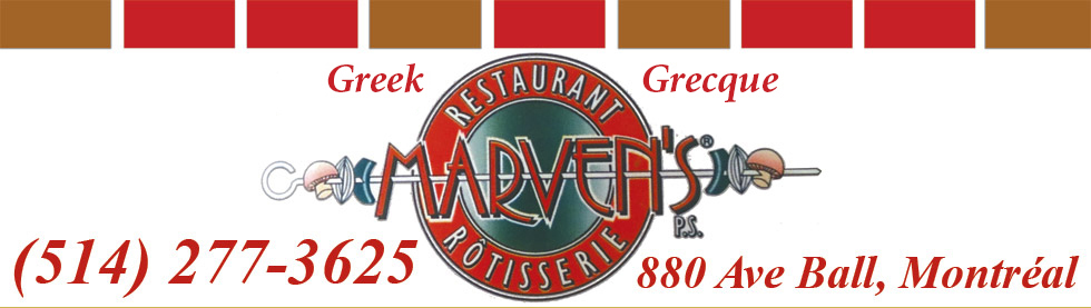 Greek Restaurant Grec Marven's A And S Rv